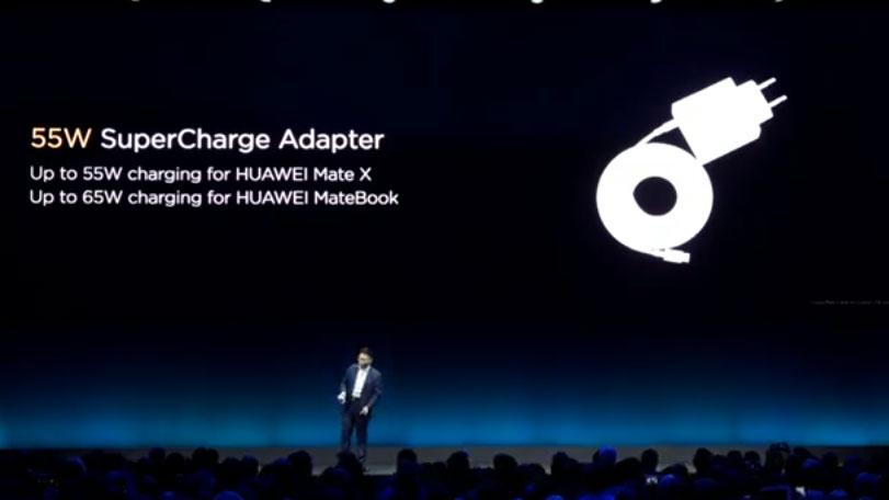 شارژ فوق سریع ۵۵ واتی هواوی مختص میت ایکس (Mate X) خواهد بود