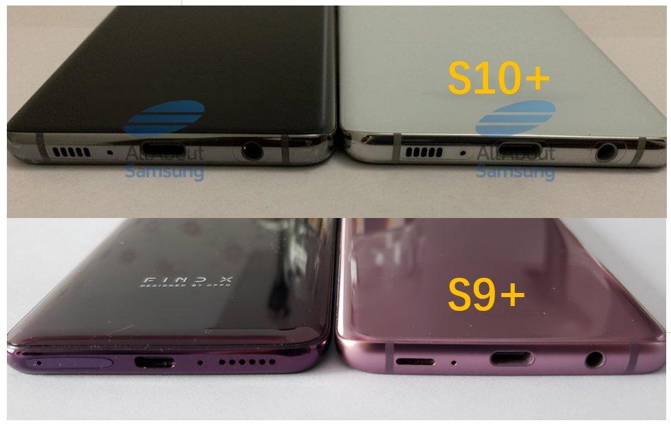گلکسی اس ۱۰ پلاس با باتری ۴۱۰۰ میلی آمپری و ضخامت کمتر نسبت به گلکسی اس ۹ پلاس عرضه می شود