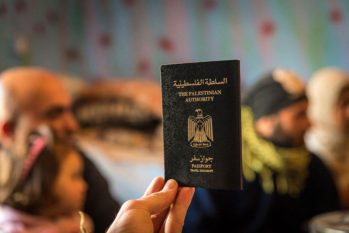 پاسپورت فلسطین