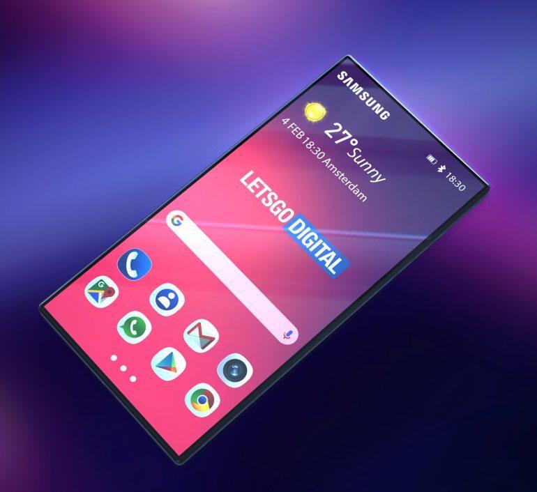 طرح مفهومی جدید موبایل تاشو سامسونگ