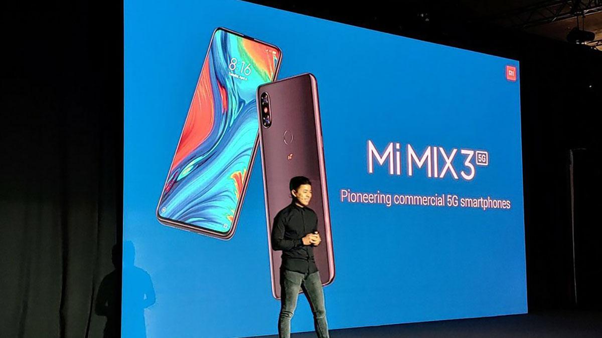 نسخه 5G شیائومی می میکس ۳