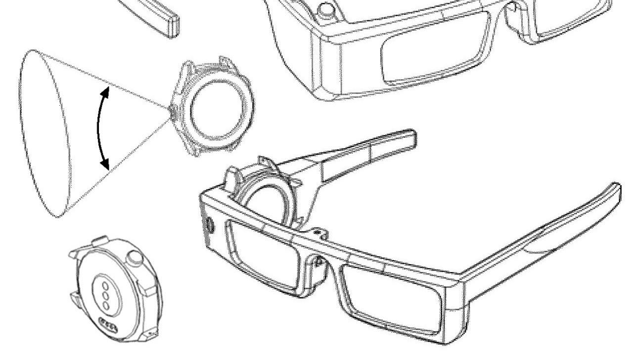 حق اختراع هواوی برای ترکیب ساعت هوشمند با هدست واقعیت مجازی
