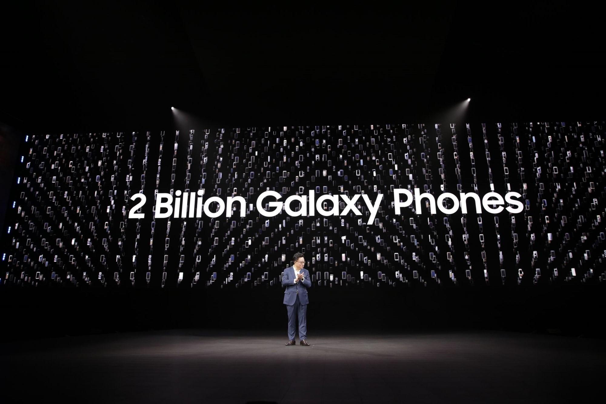 سامسونگ ۲ میلیارد دستگاه موبایل Galaxy فروخته است