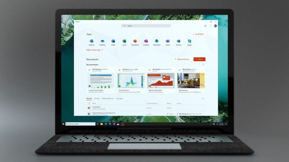 نرم افزار جدید مایکروسافت آفیس برای ویندوز ۱۰ ارایه شد