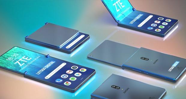 حق اختراع گوشی منعطف ZTE به صورت عمودی دیده شد