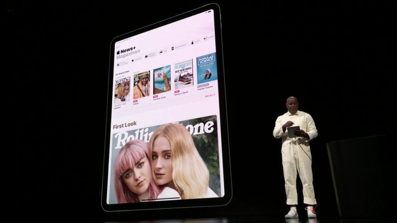 سرویس اپل نیوز پلاس (Apple News Plus) با دسترسی به ۳۰۰ مجله و قیمت ماهانه ۱۰ دلار رسما معرفی شد