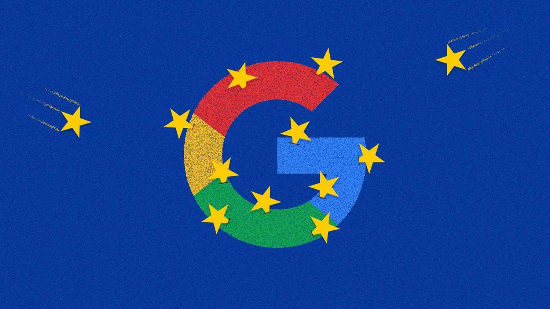 جریمه گوگل توسط اتحادیه اروپا