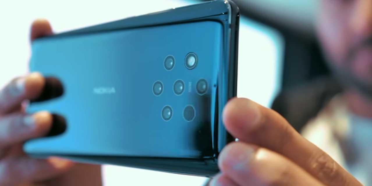 دوربین پنج گانه نوکیا ۹