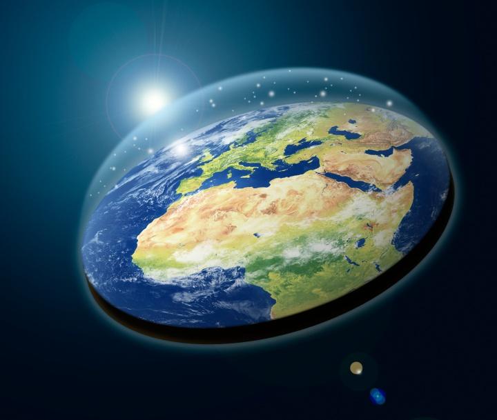 نظریه زمین تخت
