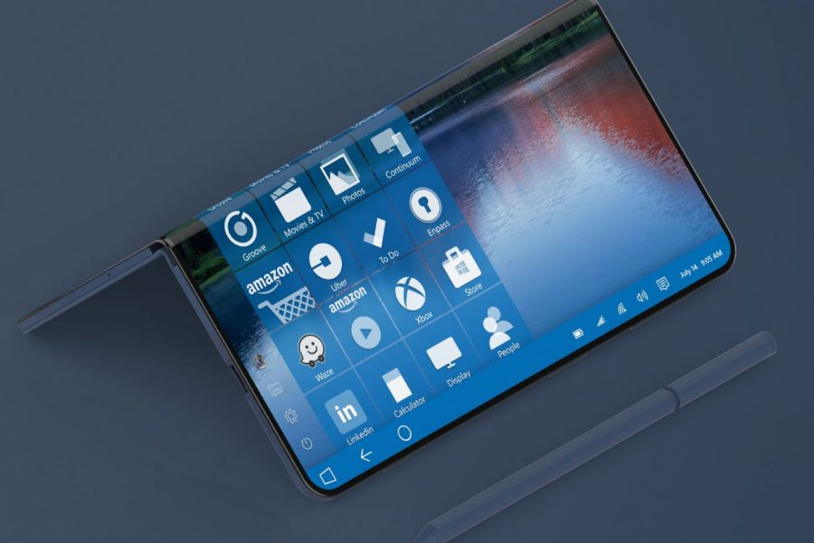 احتمال عرضه یک گوشی تاشو با سیستم عامل ویندوز لایت (Windows Lite OS)
