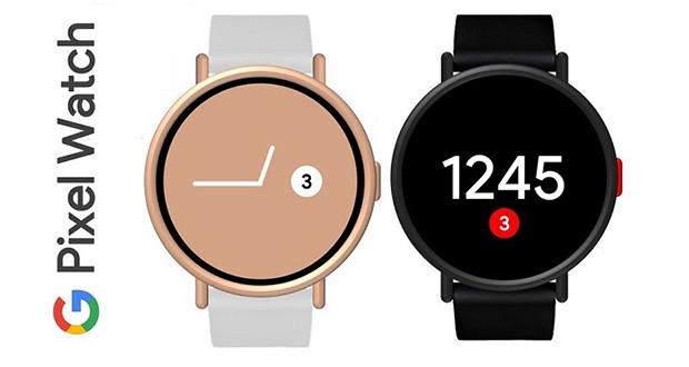 طراحی ساعت هوشمند گوگل پیکسل واچ را ببینیم