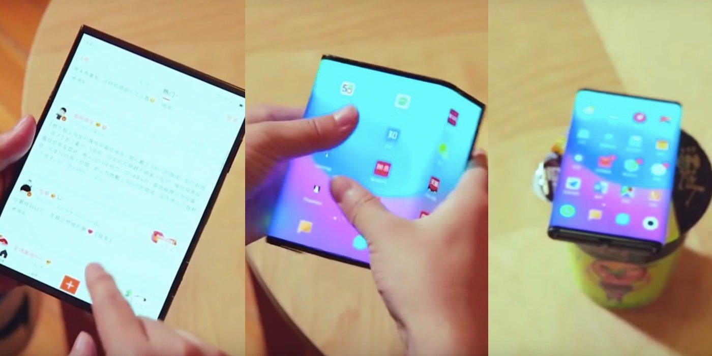 شیائومی می میکس ۴ (Mi Mix 4) اولین گوشی تاشو شیائومی خواهد بود؟