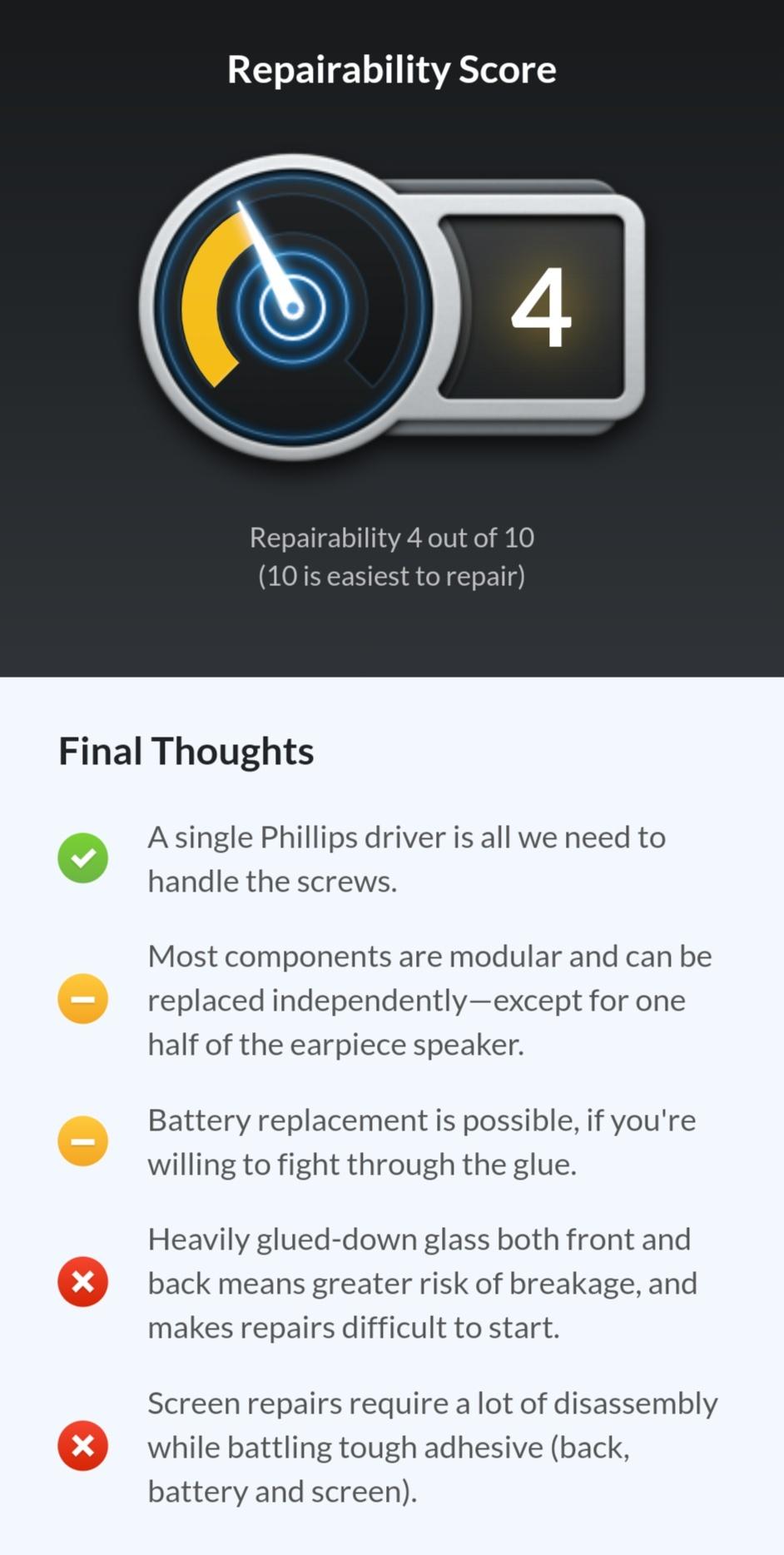 Screenshot 2019 04 14 15 33 39 655 com.android.chrome 01 - کالبدشکافی هواوی پی ۳۰ پرو و امتیاز ۴ از ۱۰ توسط iFixit