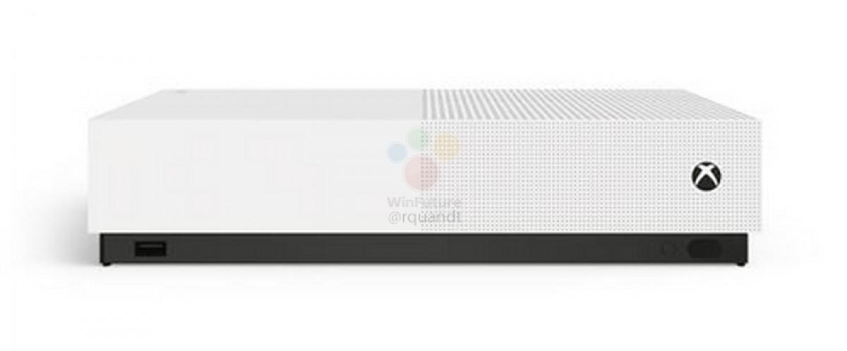 کنسول بازی مایکروسافت ایکس باکس وان اس آل دیجیتال (Xbox One S All Digital) لو رفت