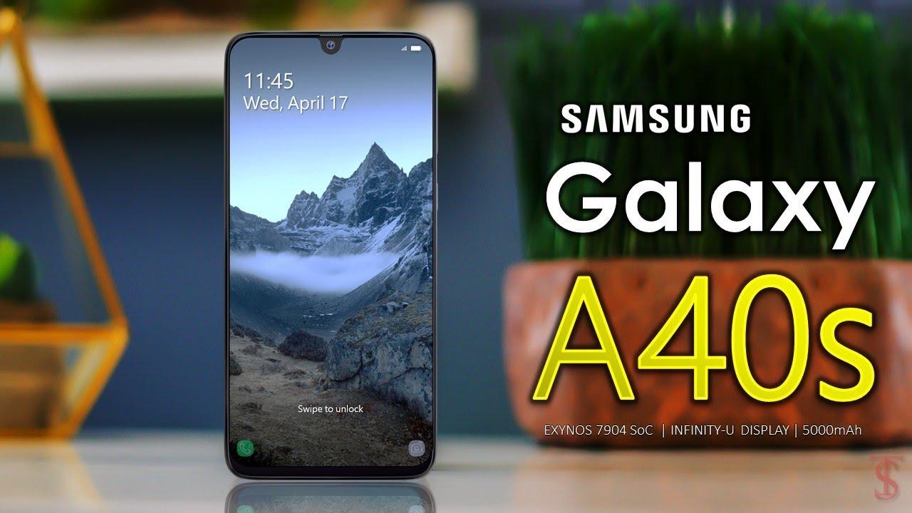 سامسونگ گلکسی ای ۴۰ اس (Galaxy A40s) همان گلکسی M30 برای بازار چین است