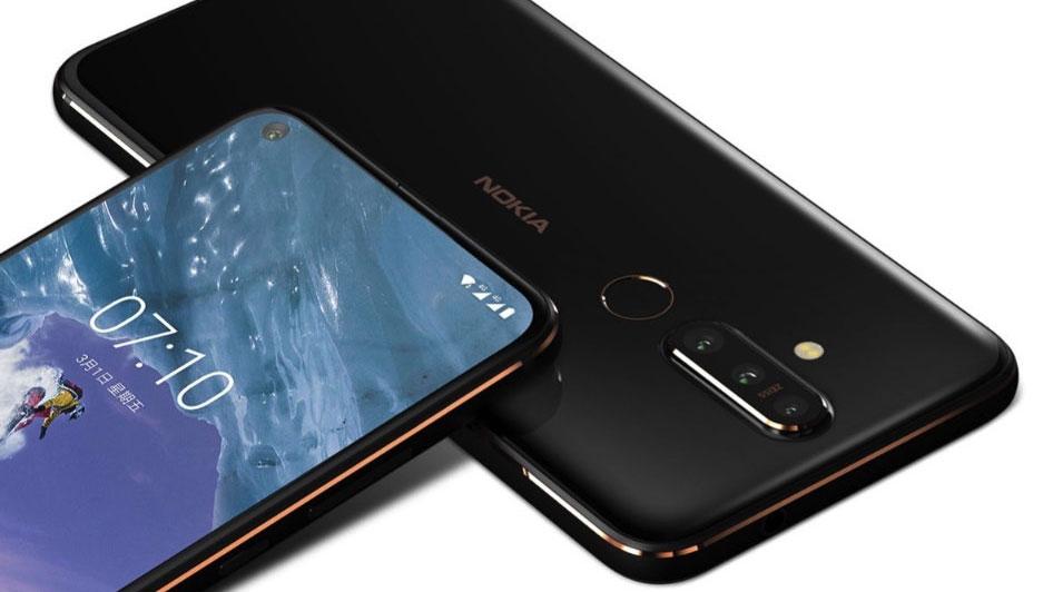نوکیا ایکس ۷۱ (Nokia X71) رسما با سوراخ نمایشگر معرفی شد