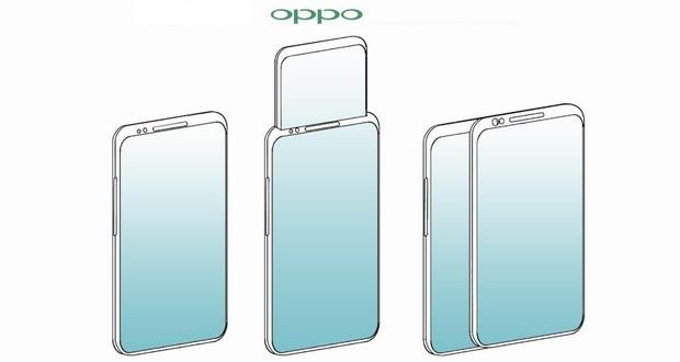 حق اختراع اوپو برای گوشی های عجیب