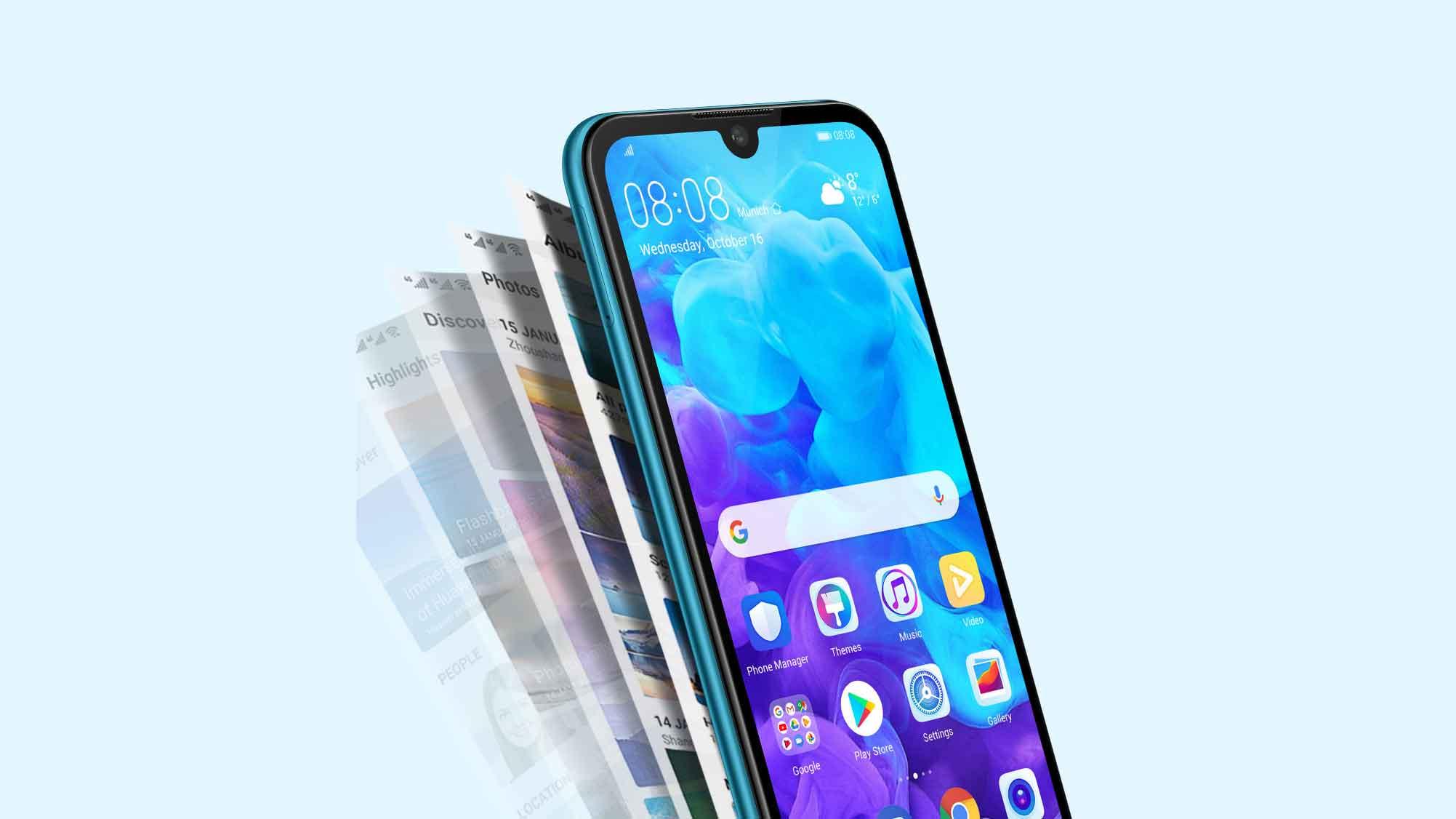 گوشی هواوی Y5 2019 با چیپست مدیاتک Helio A22 رسما معرفی شد