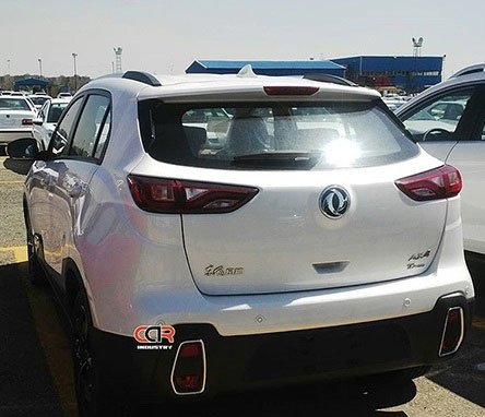 دانگ فنگ AX4 در محوطه ایران خودرو