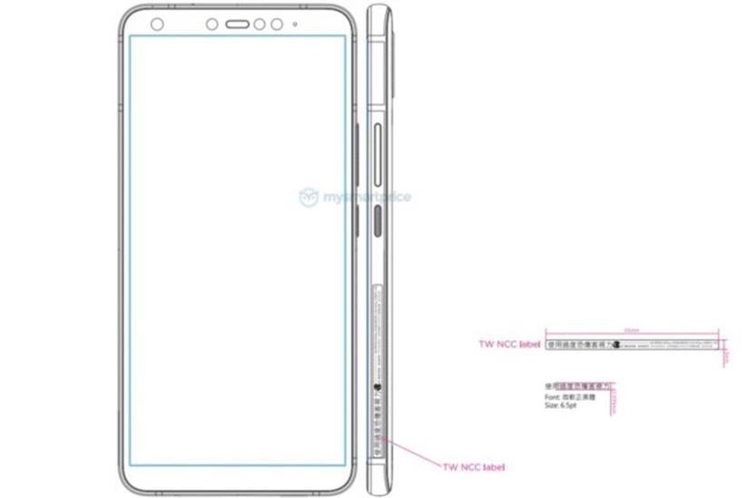 شماتیک گوشی جدید اچ تی سی طراحی قدیمی را نشان می دهد