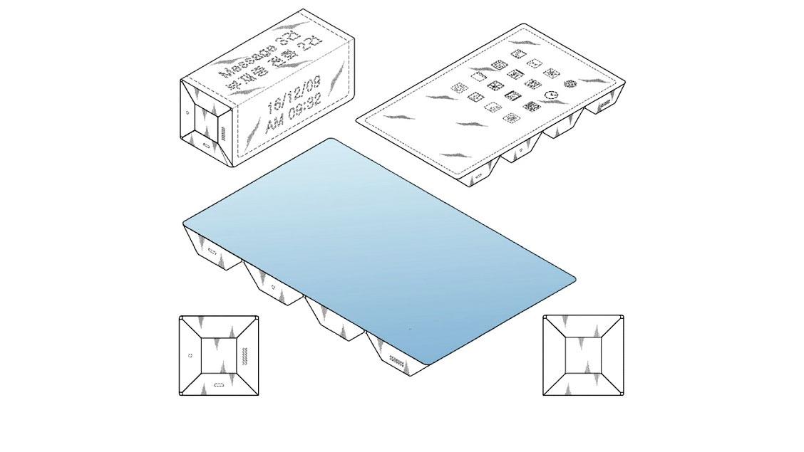 حق اختراع سامسونگ برای دستگاهی با نمایشگر ۴ وجهی