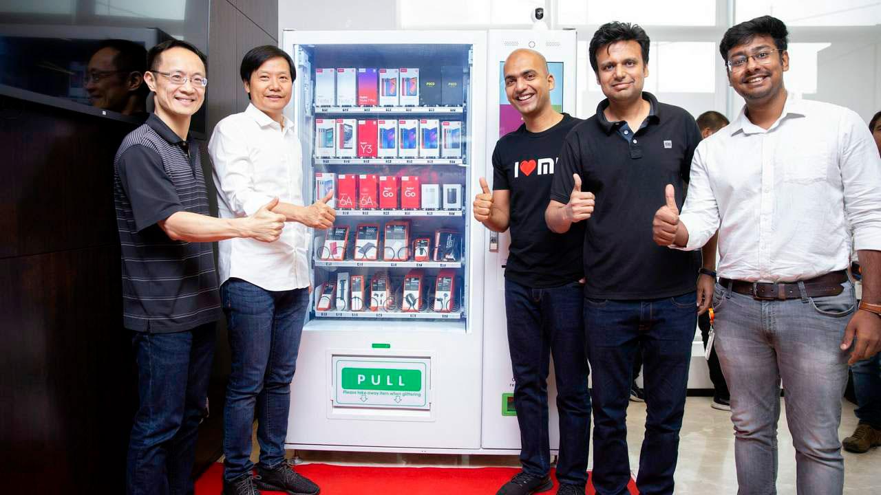 فروش موبایل شیائومی در کیسوک نوشابه