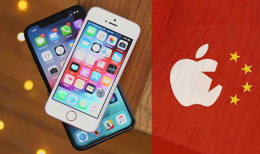 """چین برای پاسخ به تحریم هواوی توسط امریکا احتمالا اپل را """"نهاد غیرقابل اعتماد"""" بنامد"""