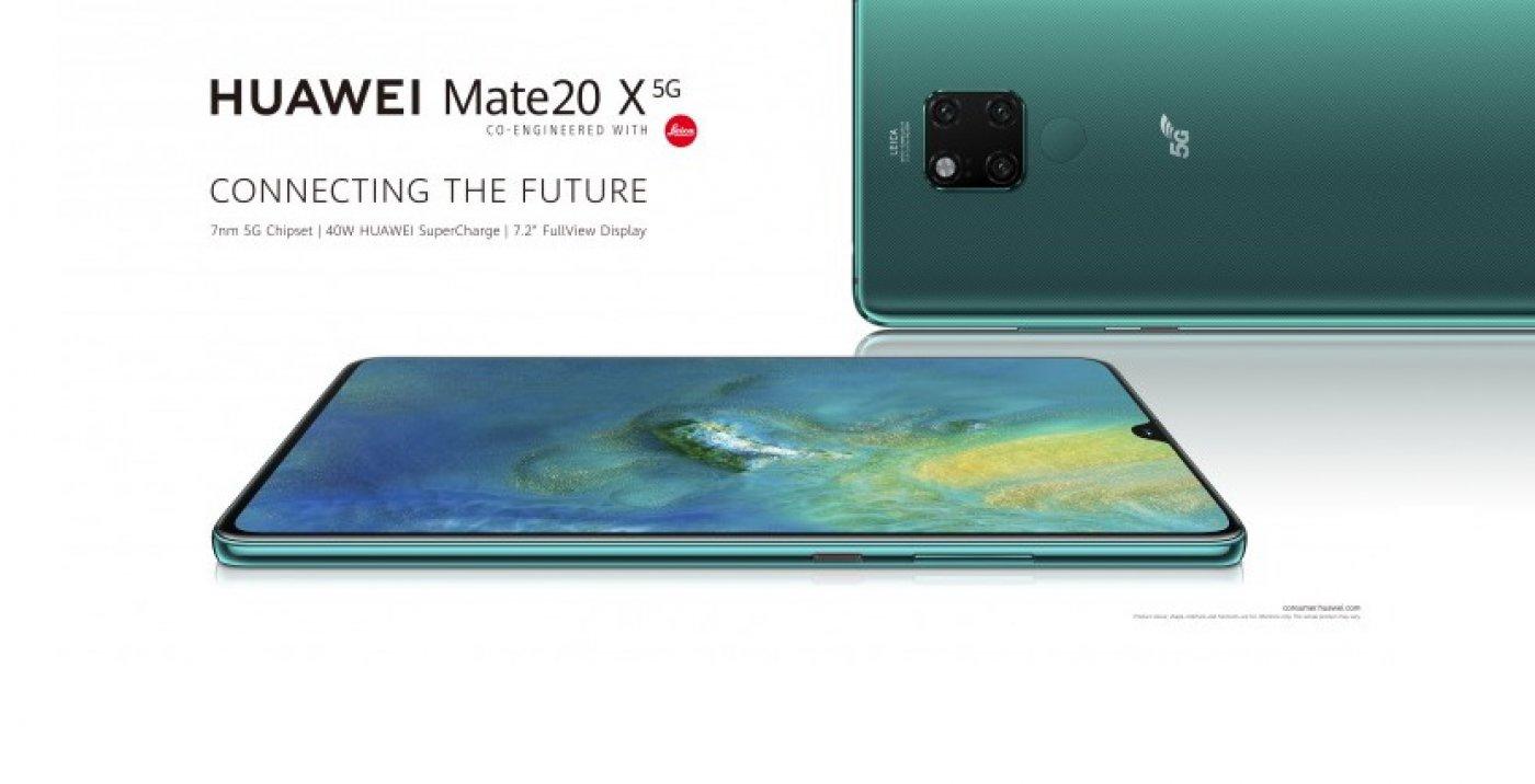 گوشی 5G هواوی میت ۲۰ ایکس 5G رسما معرفی شد