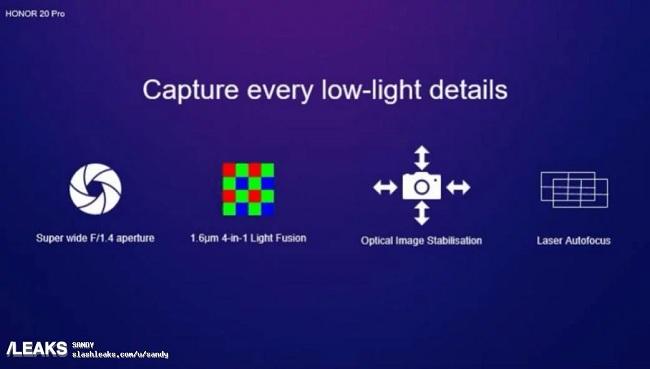honor20 cam4 - جزییات دوربین چهارگانه آنر ۲۰ پرو (Honor 20 pro) و آنر ۲۰ را ببینید