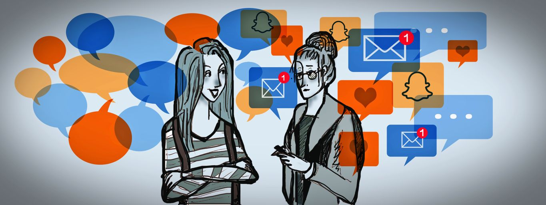 زمان زیادی از دانش آموزان در شبکه های اجتماعی سپری می شود