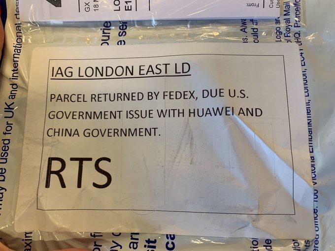 پست FedEx هواوی