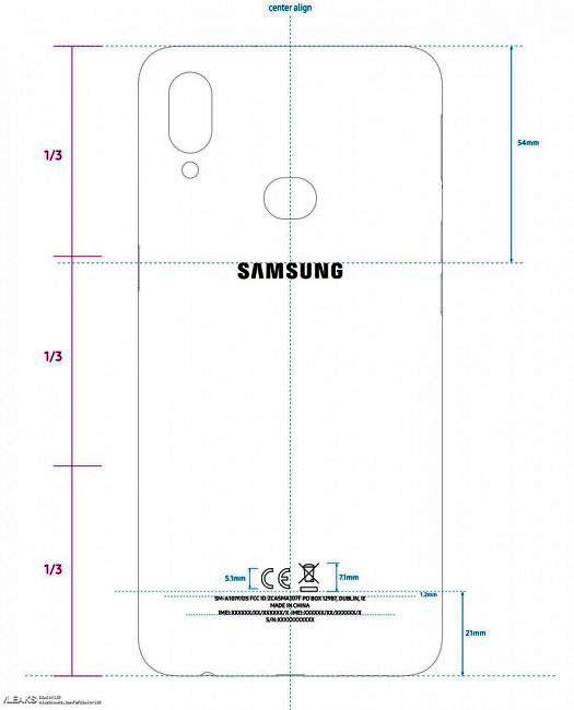 گلکسی ای ۱۰ اس (Galaxy A10s)