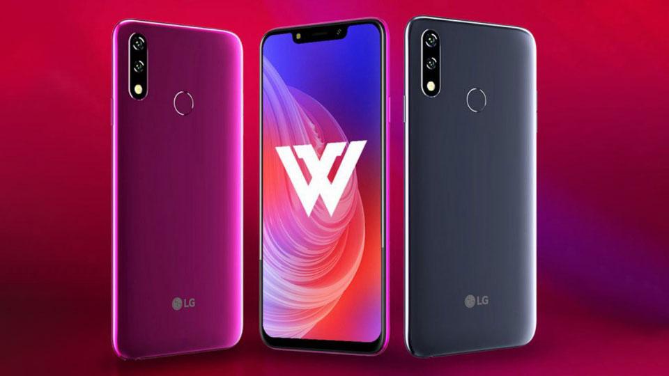 ال جی دبلیو ۱۰ (LG W10)