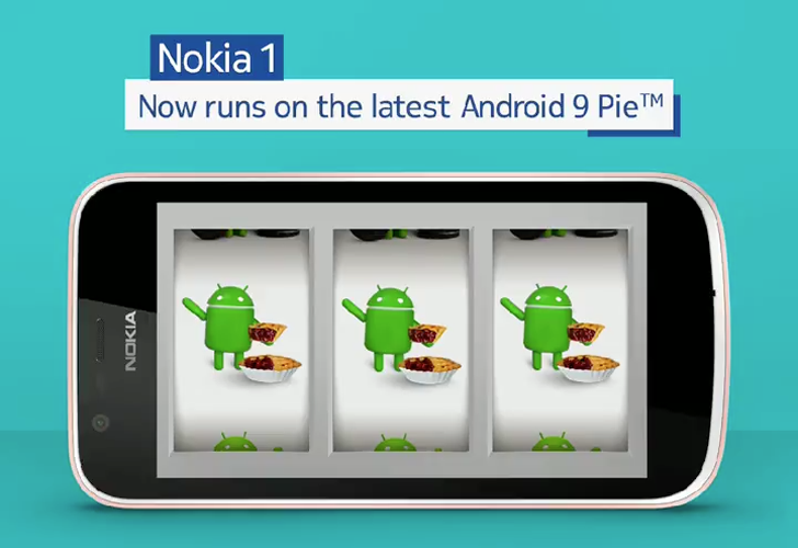 آپدیت اندورید ۹ نوکیا ۱ (Nokia 1) رسما ارایه شد