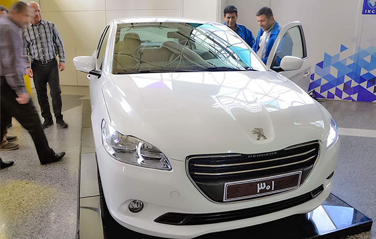 پژو ۳۰۱ ایران خودرو