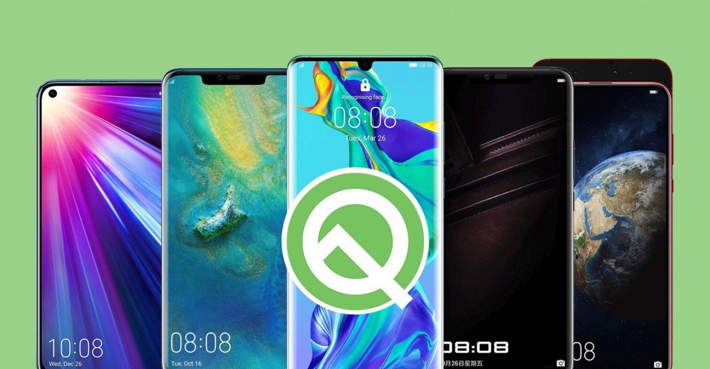 کدام گوشی های هواوی و آنر آپدیت اندروید ۱۰ یا اندروید Q را دریافت می کنند؟