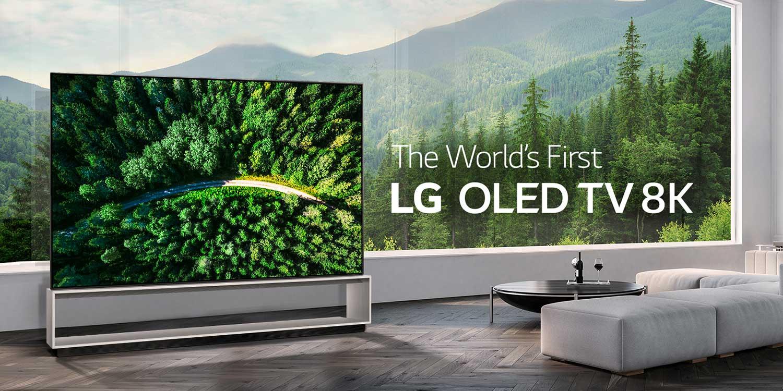 تلویزیون OLED 8K ال جی
