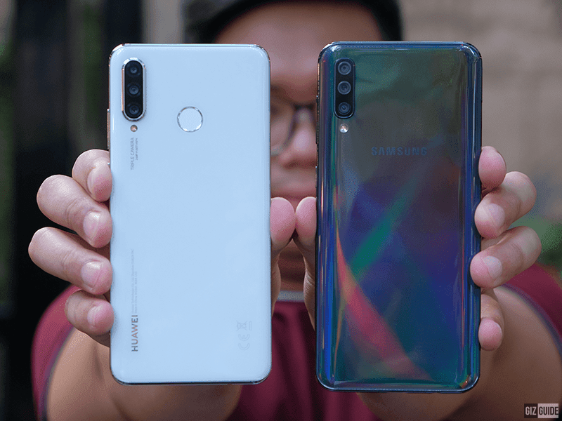 مقایسه هواوی پی ۳۰ لایت با سامسونگ گلکسی ای ۵۰ (Galaxy A50)