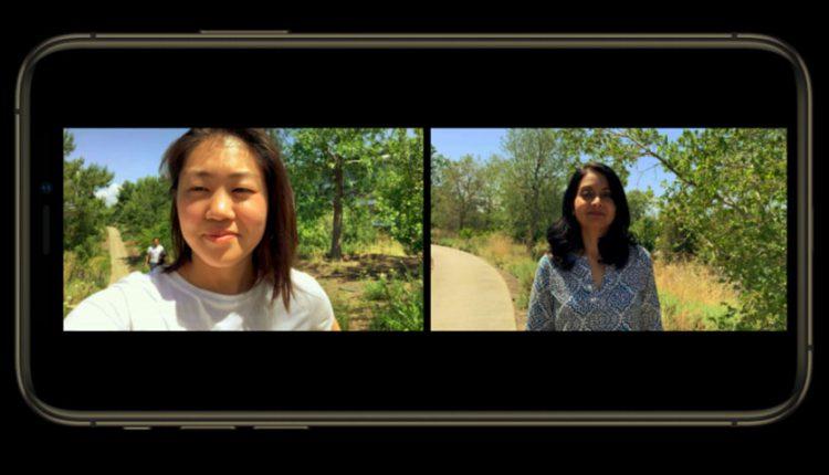 سیستم عامل iOS 13 استفاده همزمان از دوربین عقب و جلو را به شما می دهد