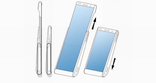 صفحه نمایش لول شونده سامسونگ در یک حق اختراع جدید دیده شد