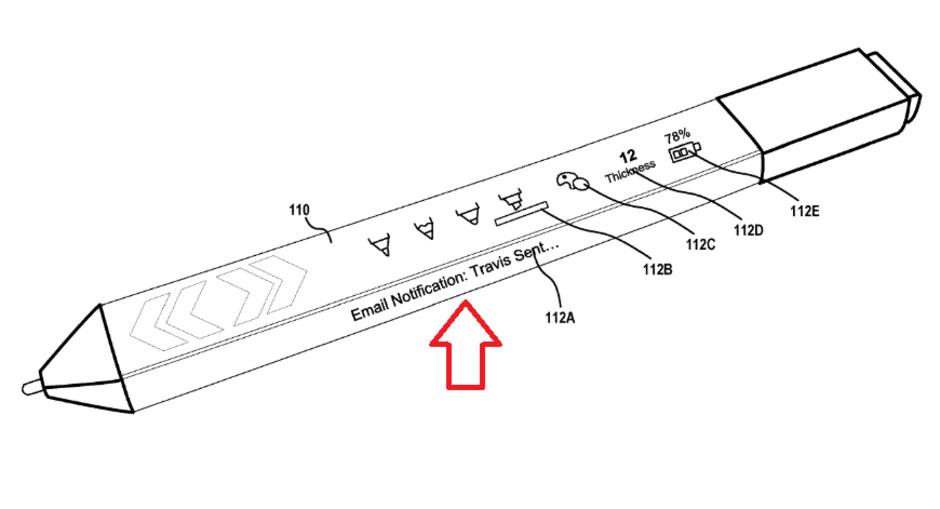 حق اختراع جدید مایکروسافت برای قلم سرفیس