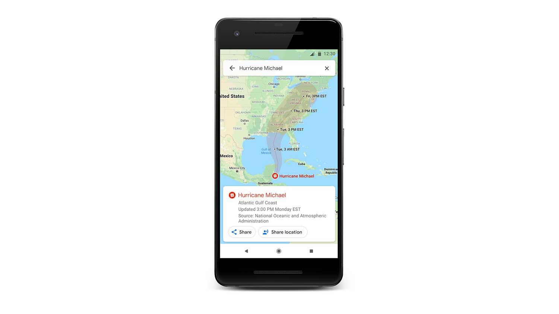 سرویس هشدار SOS گوگل مپ