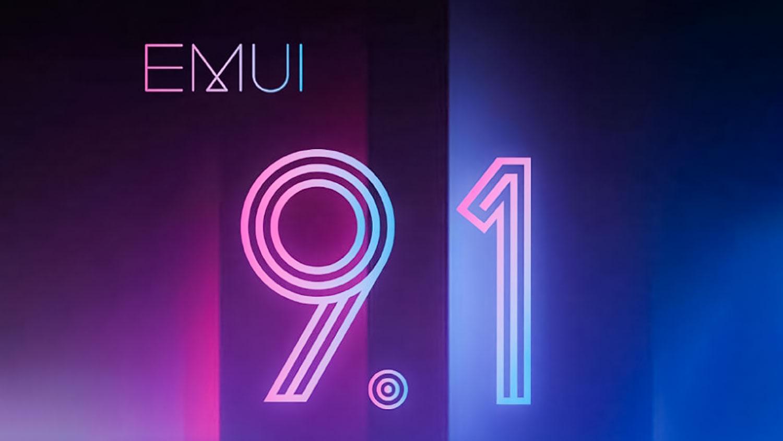 آپدیت رابط کاربری EMUI 9.1