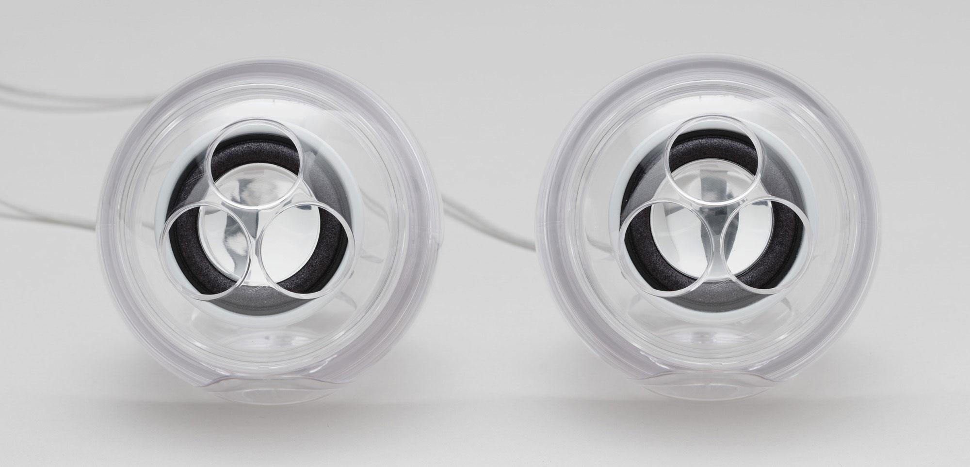 (G4 Cube speakers (2000