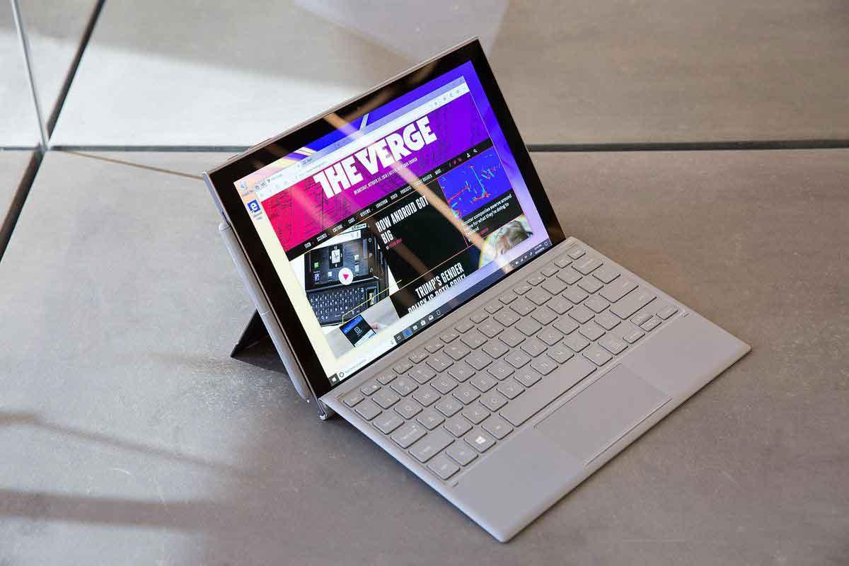 تبلت ویندوزی سامسونگ گلکسی بوک اس (Galaxy Book S) رقیب جدی برای سرفیس مایکروسافت خواهد بود
