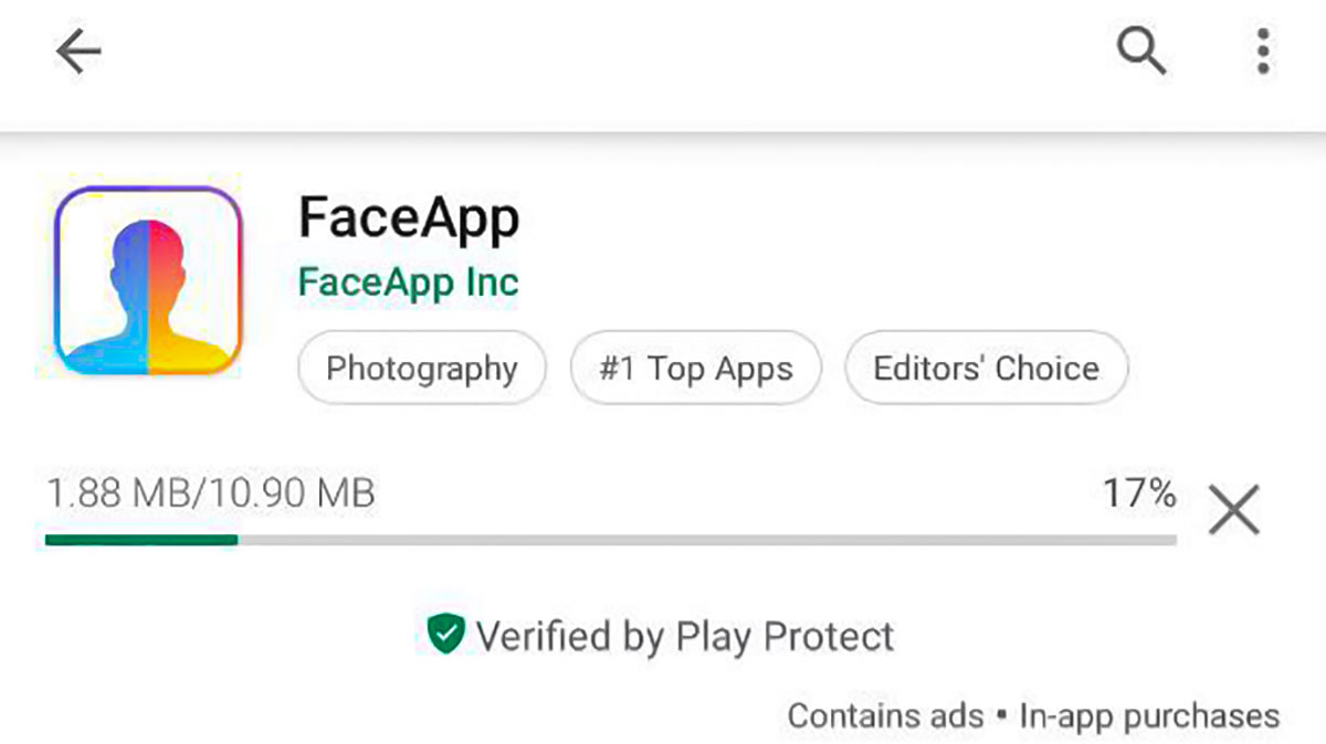 نرم افزار تغییر چهره فیس اپ