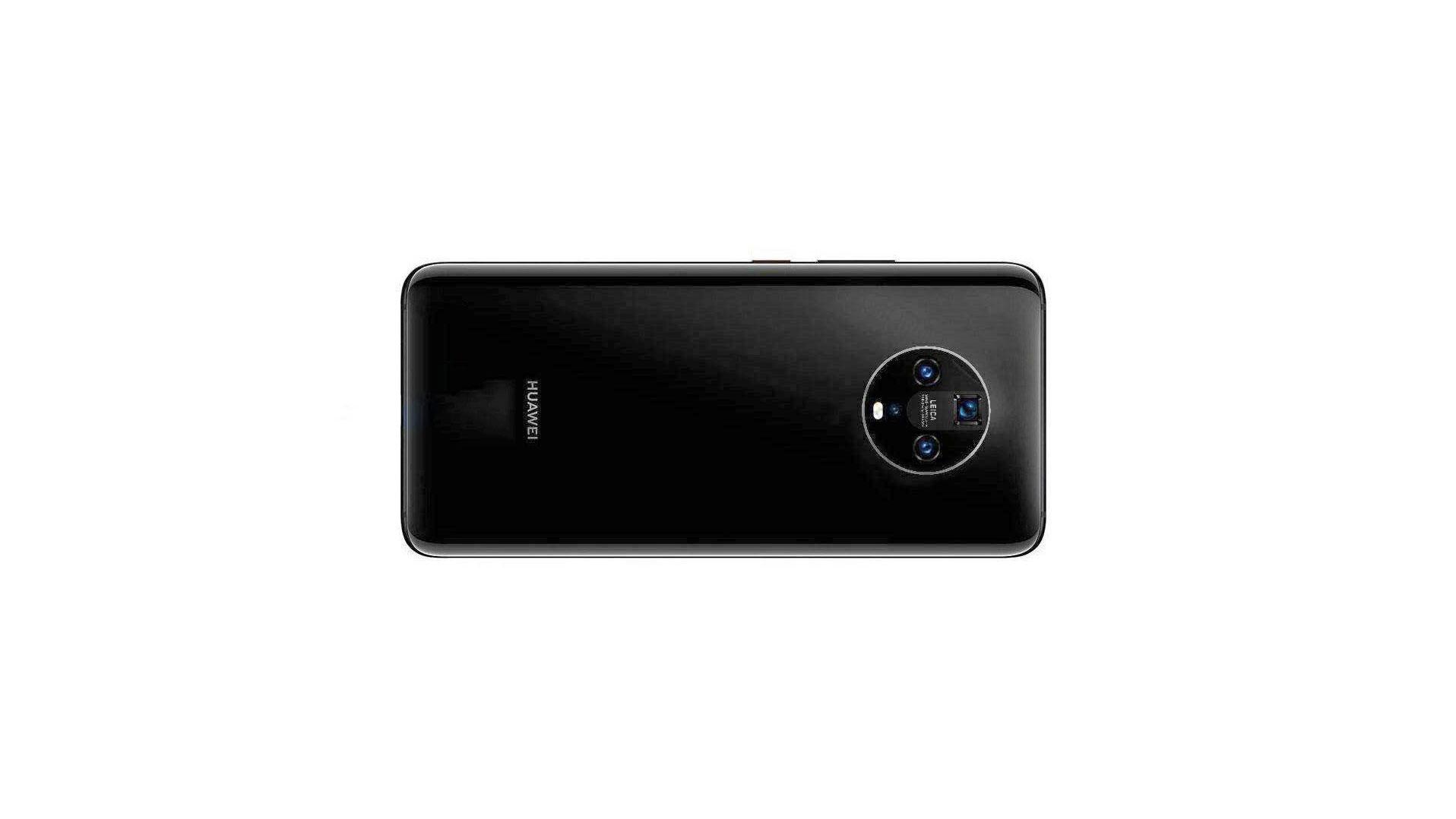 طراحی دوربین چهارگانه هواوی میت ۳۰ (Huawei Mate 30) دایره ای است!
