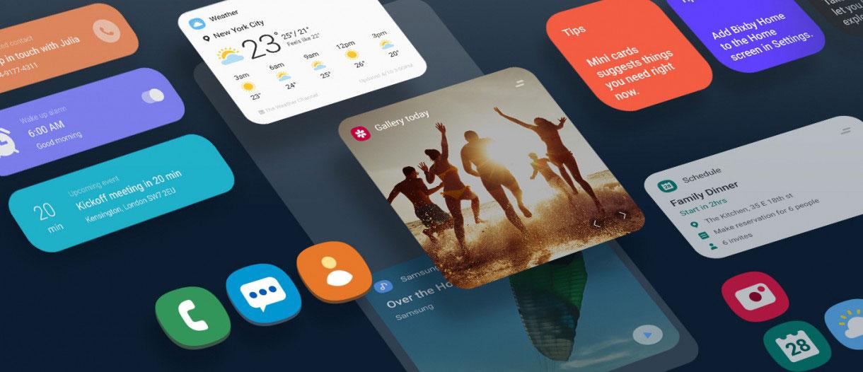 رابط کاربری One UI 2.0