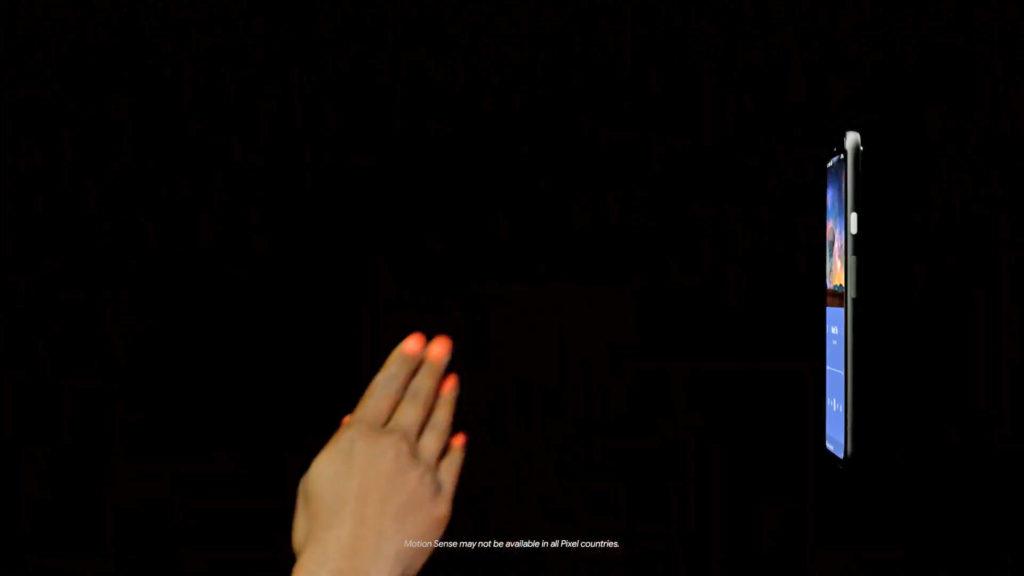 کنترل بدون لمس در پیکسل ۴