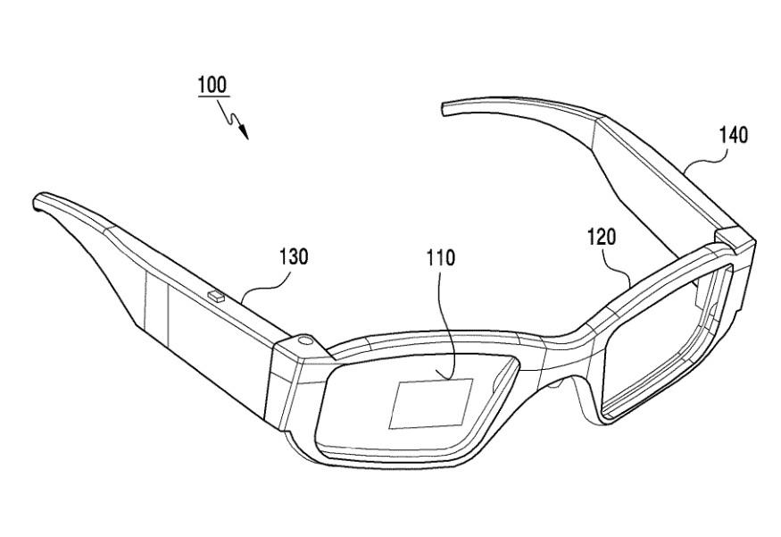 حق اختراع عینک واقعیت افزوده سامسونگ را ببینید